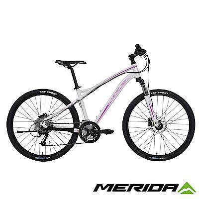《MERIDA》美利達女性登山車 維多利亞600 白 2017