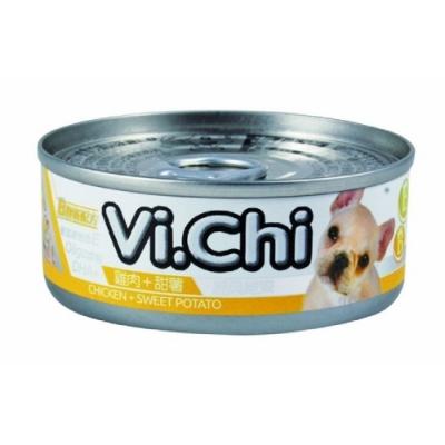 維齊 Vi.Chi 狗罐 80G-雞肉+甜薯【12罐組】