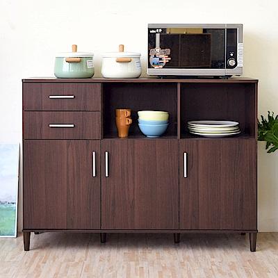 《HOPMA》DIY巧收三門二抽廚房櫃