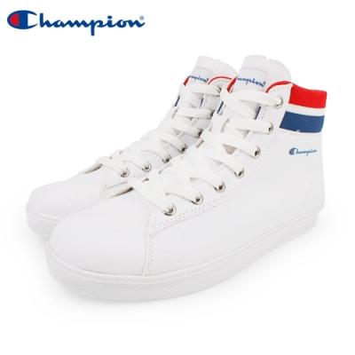 【Champion】CP Cozy HI 休閒帆布鞋 高筒 女鞋-白(WFLS-9004-03)