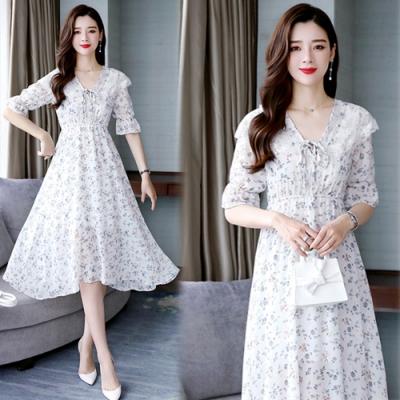 【韓國K.W.】韓國設計純淨簡約洋裝