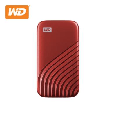 WD My Passport SSD 1TB(紅) 外接SSD