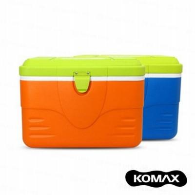 【索樂生活】韓國KOMAX戶外露營行動保溫冰箱桶50L.攜帶手提式食物收納隨身保冷藏箱