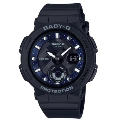 CASIO BABY-G/潮流尖端雙顯運動腕錶/BGA-250-1A