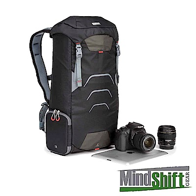 MindShiftGear曼德士-UltraLight運動休閒機能包16L-黑-MS300