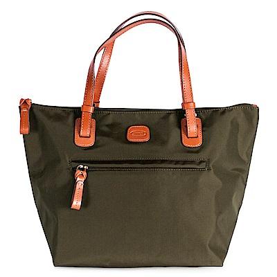 BRICS 義大利 橄欖綠 女仕包兼旅行袋 小