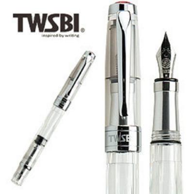 台灣三文堂鋼筆 鑽石580AL 透明 F