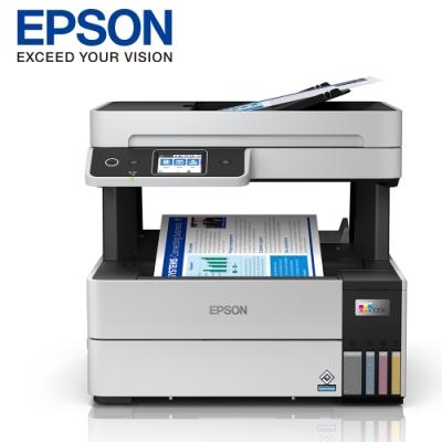 EPSON L6490 四色防水 高速A4連續供墨傳真複合機