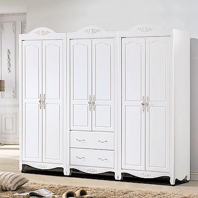 AS-朵拉8尺衣櫥-243*58*211cm