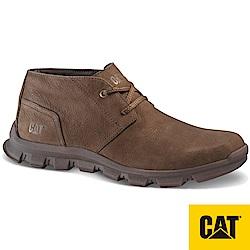 【CAT】MISSION 厚底牛皮休閒鞋-男(CA723245)