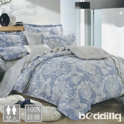 BEDDING-純棉三件式薄床包枕套組-多款任選(雙人)