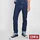EDWIN EDGE 加大碼 綠漸層小直筒牛仔褲-男-原藍色 product thumbnail 1