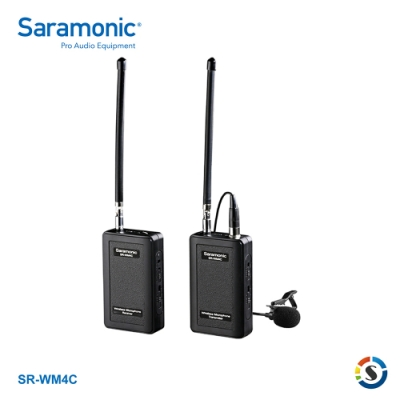 Saramonic楓笛 SR-WM4C 一對一VHF無線麥克風系統