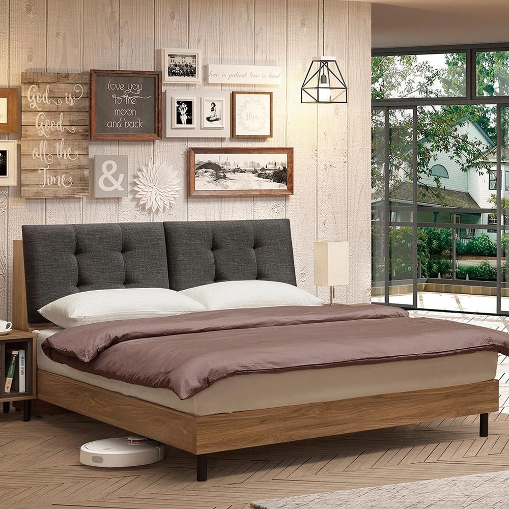 H&D 亞伯斯5尺床頭式床台
