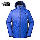 The North Face北面男款海軍藍防水透氣衝鋒衣|3L8F1SK