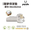【英國Panda】床包式設計保潔墊-60x120 (防水抗菌抗塵蹣)