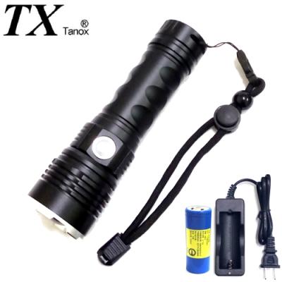 TX特林XHP-50 LED超強亮USB充電手電筒(T-26650D-P50)