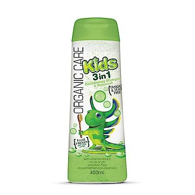 澳洲Natures Organics 植粹兒童泡泡洗髮沐浴露(Frenzy)400mlx4