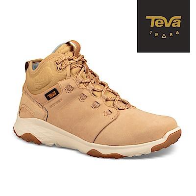 TEVA 美國-女 Arrowood 2 Mid WP 中筒防潑水休閒鞋 沙漠褐