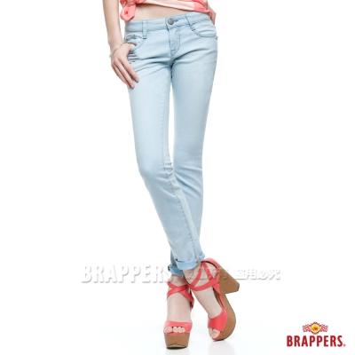 BRAPPERS 女款 新美腳Royal系列-女用九分褲-淺藍