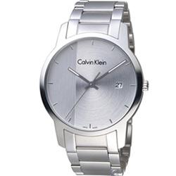 Calvin Klein City Gity 都會系列時尚腕錶(K2G2G14X)43mm