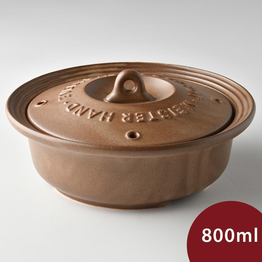 日本Meister Hand 每日湯鍋 20.5cm 棕色