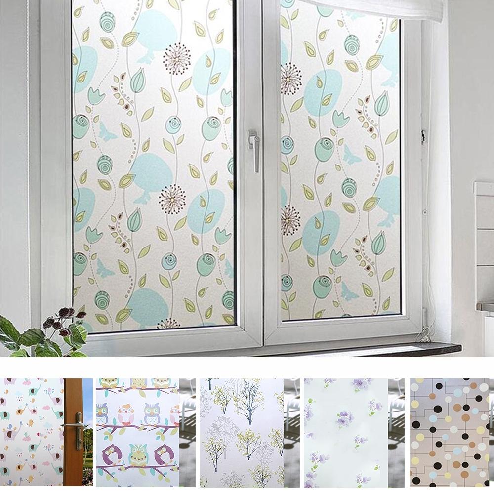 半島良品 無膠玻離靜電貼 窗戶玻璃貼紙  窗戶貼膜45X200 彩色賣場
