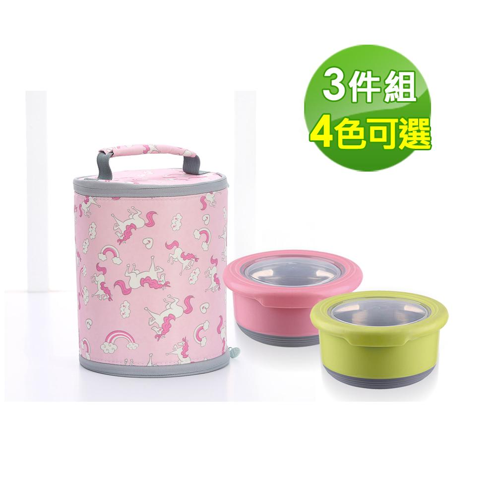 鵝頭牌 韓式多用途保鮮提袋組(三件組)