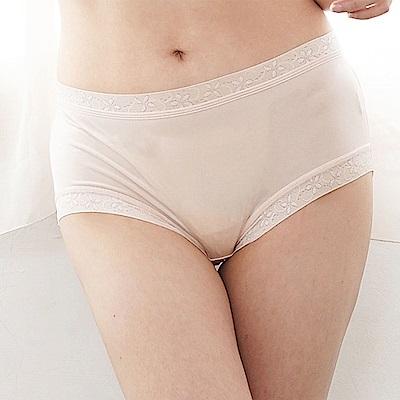 內褲 32針超涼春蠶100%蠶絲三角內褲 (淺粉紅) Chlansilk 闕蘭絹