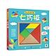 【双美】5Q創意益智七巧板(內含1組木製七巧板+108款創意造型) product thumbnail 1