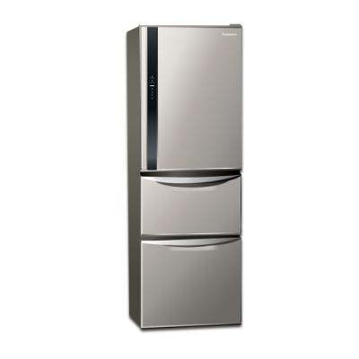 Panasonic國際牌 385L 三門變頻冰箱 NR-C389HV-L 絲紋灰