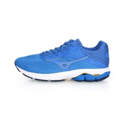 MIZUNO 男 慢跑鞋 WAVE RIDER 23 藍黃
