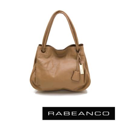 RABEANCO OL時尚粉領系列柔軟肩背包 駝