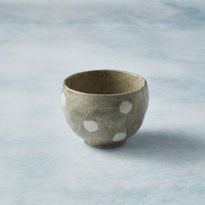 有種創意 日本美濃燒 - 手感和風茶杯 - 水玉點點 - 250ml