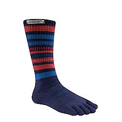 【INJINJI】Outdoor戶外羊毛五趾中筒襪
