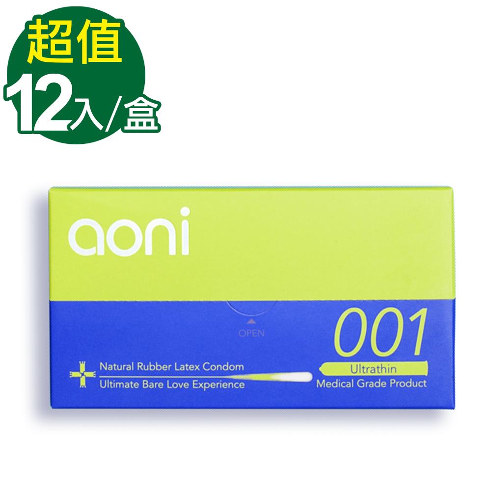 [時時樂限定]aoni 愛引力 001保險套(12入裝)-快速到貨
