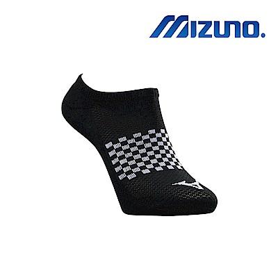 MIZUNO 男運動厚底踝襪 5入 黑 32TX920209