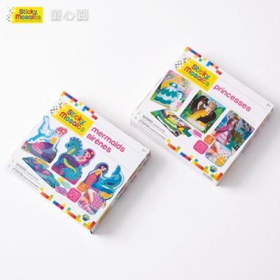 Sticky Mosaics 馬賽克拼貼女童組(公主、美人魚)(5Y+)