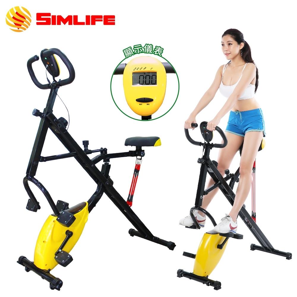 【SimLife】騎馬磁控健身車(全新福利品)