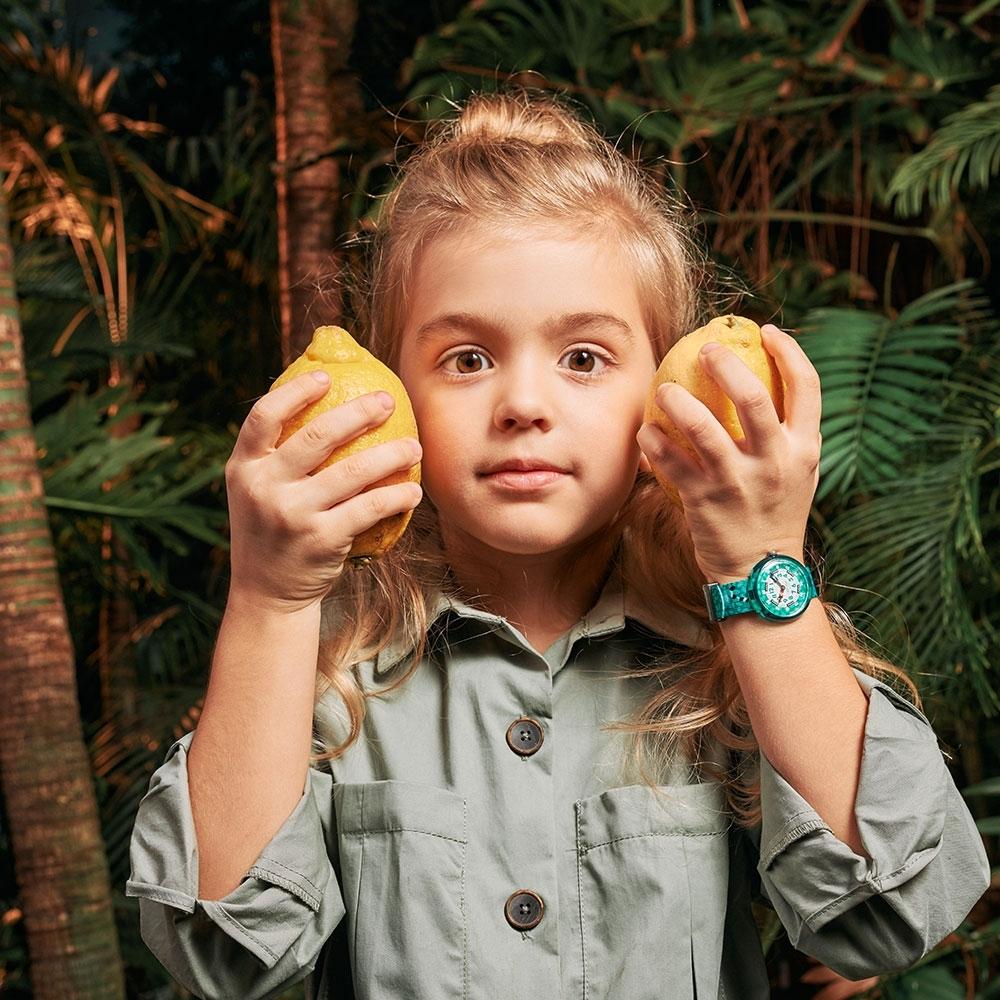 FLIKFLAK 兒童錶 好奇狐猴CURIOUS LEMUR(31.85mm)