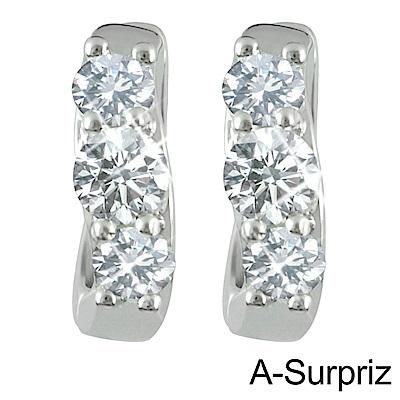 A-Surpriz 圓滿戀情鋯石耳環