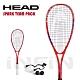 【HEAD】壁球拍 SPARK TEAM PACK 195g 紅/藍 214128 product thumbnail 1