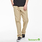 bossini男裝-修身卡其長褲01卡其