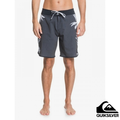 【QUIKSILVER】HIGHLINE PALM OUT 19 衝浪褲 黑色