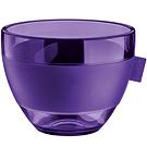 《KOZIOL》輕透隔熱杯(透紫M)