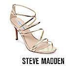 STEVE MADDEN-ALLA 性感系繞踝細跟涼鞋-金色