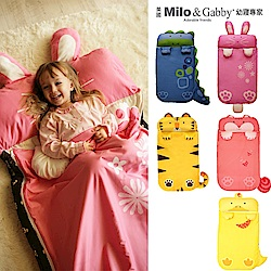 Milo&Gabby動物好朋友 三合一超柔軟四季睡袋兒童睡袋(多款可選)
