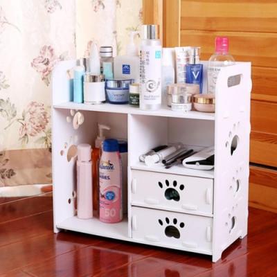 桌面化妝品收納盒 辦公室收納盒 收納架 抽屜收納 置物架