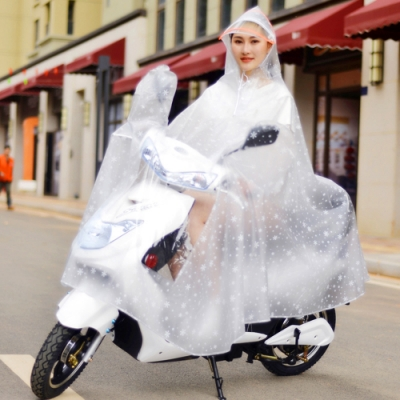 KOTI 日安生活 無拉鍊超防水全罩式機車雨衣 一件式連身雨衣