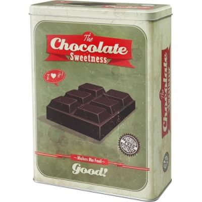《IBILI》復古長方收納罐(巧克力)